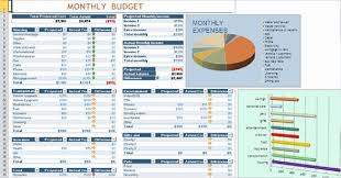 Income And Expenses Excel Template Financial Planning Budget Worksheet Excel Template Manager S