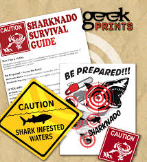 themed signs sharknado jaws printable signs shark theme party