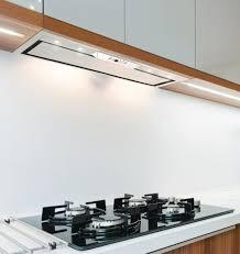 range hood with led lights 79cm stainless steel built in cupboard cooker hood