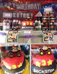 grave digger monster truck birthday party supplies monster truck birthday party