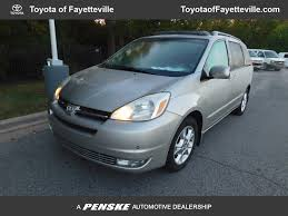 2004 used toyota sienna 5dr xle fwd at chevrolet of fayetteville