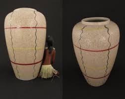 Large Brown Floor Vase Large Floor Vase Etsy