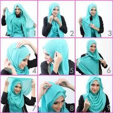 tutorial hijab pashmina kaos yang simple 7 tutorial hijab pashmina kaos simple terbaru 2017