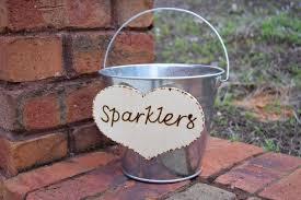 wedding program basket wedding sparklers rustic wedding large sparkler