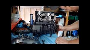 jetski tigershark montego 640 cc engine rebuild in 8 mins youtube