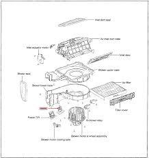 2002 hyundai elantra the heater ac fan only works on high blower