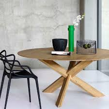 Round Dining Table Oak Contemporary Dining Table Oak Round 50164 By Alain Van Havre