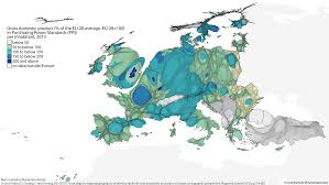 European Union Blank Map by Views Of The World Rediscovering The World