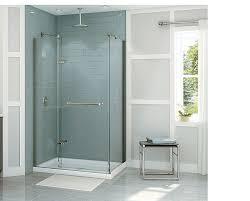 Pictures Of Glass Shower Doors Choosing A Glass Shower Door Homebuilding