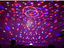 mini disco ball light light changing magic crystal color mini disco ball led stage lights