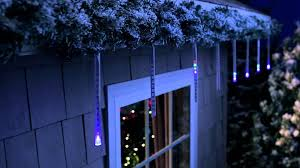 icicle lights ged costco blue outdoor