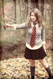 hermione halloween costume was perfect for as a teacher