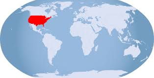 united states globe map globe usa highlighted clip at clker vector clip
