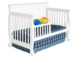 Toddler Rail For Convertible Crib Davinci Kalani 4 In 1 Convertible Baby Crib In White W Toddler
