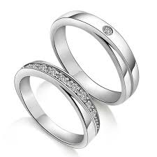 wedding rings for couples diamond wedding rings for couples custom names engraved couples