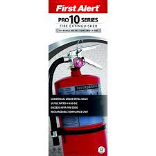 First Alert Kitchen Fire Extinguisher by First Alert Pro10a Rechargable Commercial Fire Extinguisher