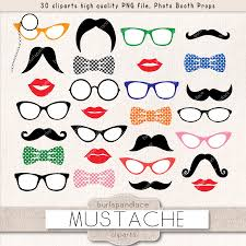mustache party mustache party clipart illustrations creative market