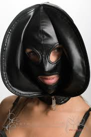 leather mask breath play leather mask skinned sensory deprivation