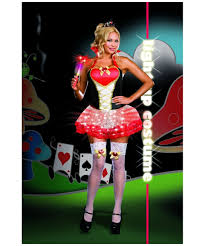 Size Woman Halloween Costume Queen Heartbreakers Costume Costume Size