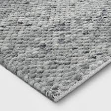 wool rug chunky knit wool rug project 62 target