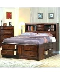 King Headboard With Storage Appealing Kingsize Headboard With Storage Platform Bed Bookcase