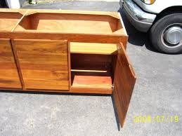 Teak Outdoor Cabinet Peter U0027s Custom Wood Shop Custom Bookcases Tables Cabinets And
