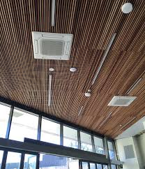 Wood Slat Ceiling System by Decor Systemsorange Museum Timber Ceiling By Decor Systems