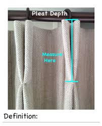 How To Make Pleats In Curtains Lined Double Pleat Pinch Pleat Curtain Calculate Curtain Dimensions