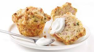 cuisiner du jambon blanc muffins au jambon blanc et au cheddar recettes iga