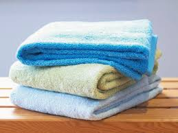 towel folding ideas for bathrooms how to fold a bath towel hgtv