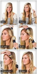 different ways to curl your hair with a wand easy way to curl your hair with curling iron beauty zone