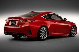 lexus sports car rc 2015 lexus rc motor trend