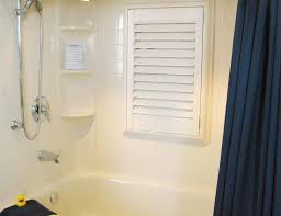 Windows In Bathroom Showers Window Solutions Milestone Bath Products