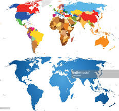 World Map Vector Color Of World Map Vector Art Getty Images