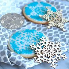 decorated cookies snowflake cookies simply sated