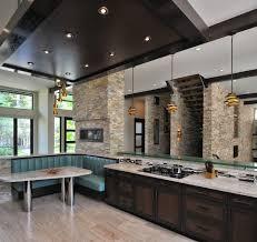 photo cuisine avec ilot central étonnant intérieur thème en conjonction avec modele de cuisine avec