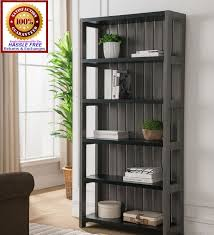 tall distressed wooden bookcase and with white ideas the aston