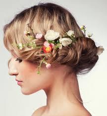 Hochsteckfrisurenen Hochzeit Mit Blumen by Cool Einzigartige Hochzeit Frisuren Mit Blumen Blumen
