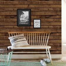 Wood Wall Living Room Brown Wood Wallpaper Peel And Stick Wood Wall Paneling Wood