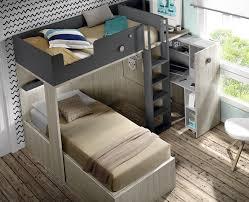 bureau superposé lit superposé avec bureau amovible meubles ros meubles ros