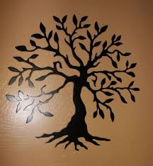tree of life home decor tree of life metal wall art home decor chameleon teal ebay
