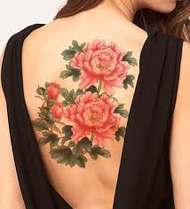 Large Flower Tattoos On - 25 best tattoos images on peonies flowers and