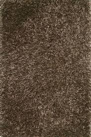 Allure Rugs Area Rugs Long Island Square Brown Shag Style Vintage Contemporary