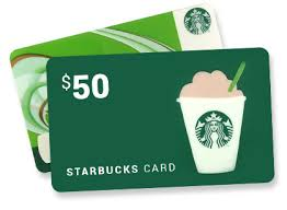 starbuck gift cards starbuck gift card 50 starbucks gift card sweepstakes ends on mar