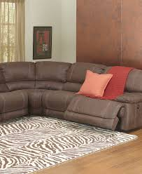 Fabric Sectional Sofa With Recliner by Jedd Fabric 6 Pc Power Motion Reclining Sectional Sofa