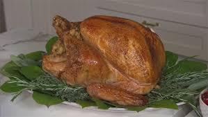 recipe bobby flay s herb roasted turkey cbs news