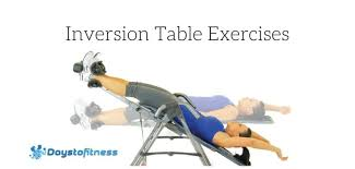 How Long To Use Inversion Table Inversion Table Exercises For Sciatic Nerve Pain Relief Days To