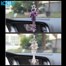 1pcs fashion car hanging swan ornaments car hanging pendant