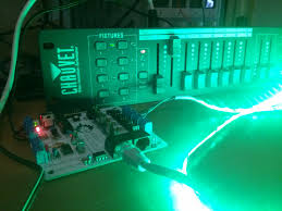 dmx light board controller dmx512 as a flame effect controller propane and electrons