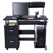 Small Laptop And Printer Desk Computer Printer Desk Student Workstation Home Office Laptop